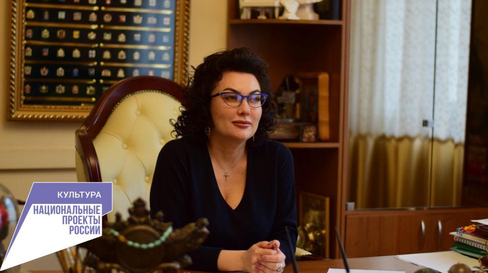 Арина Новосельская: Успешно достигнут показатель регионального проекта «Цифровая культура» по онлайн-трансляциям знаковых событий в сфере культуры Крыма