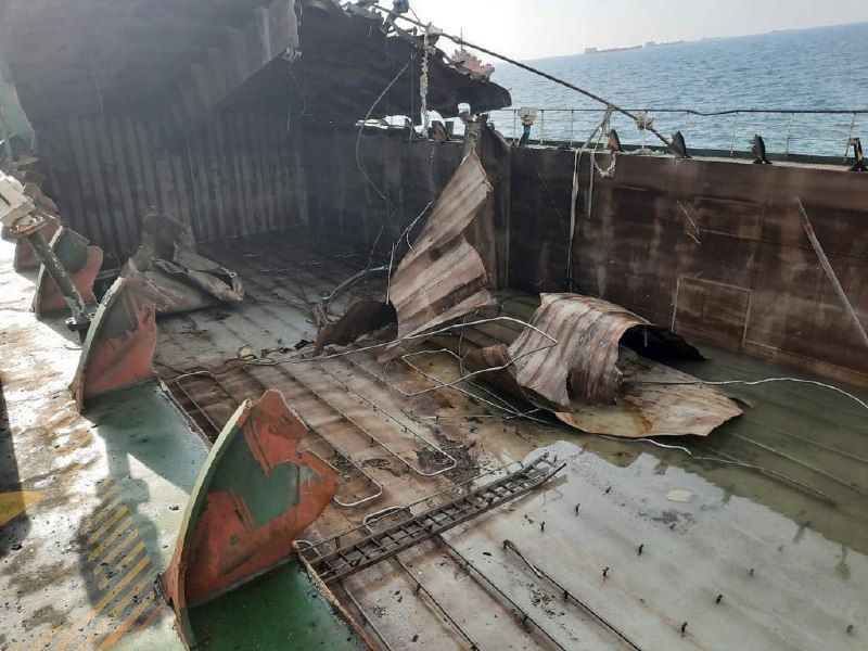 В Азовском море прекращены поиски пропавших моряков