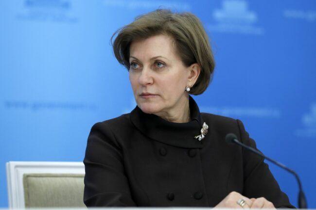 Анна Попова сказала, что необходимость в масках отпадет после вакцинации