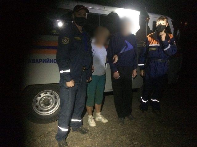 Спасатели снова искали в потемках туристов-москвичей на Аю-Даге