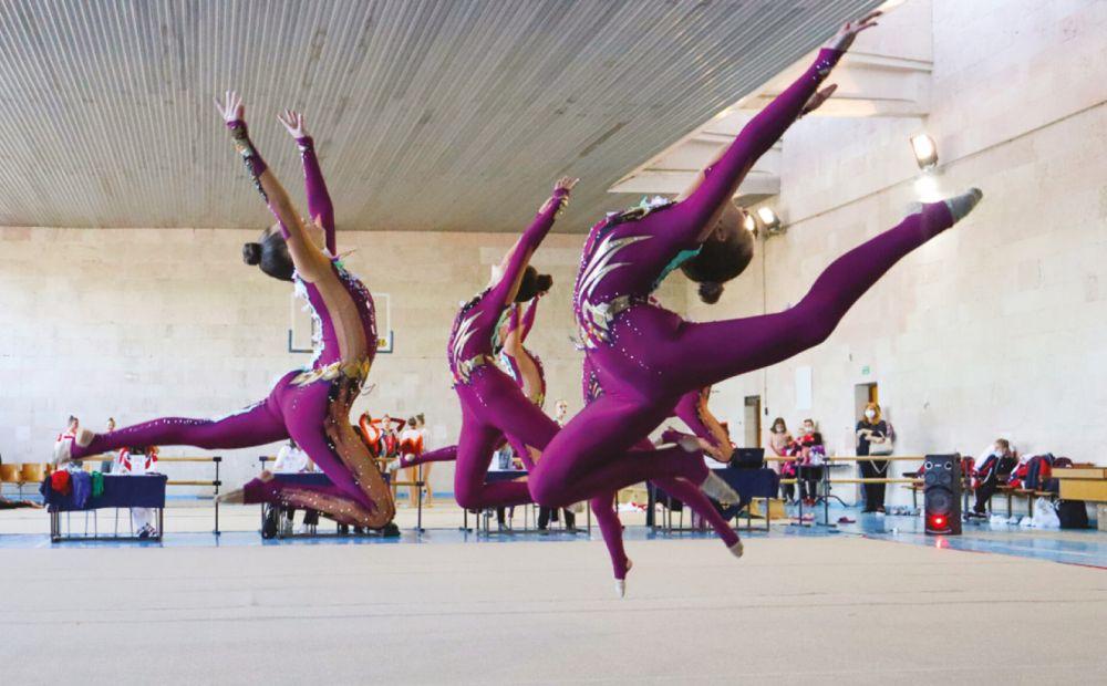 В Симферополе завершились республиканские соревнования по эстетической гимнастике