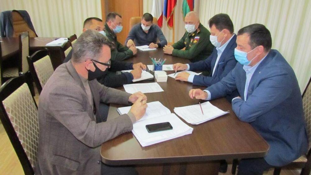 Военный комиссар Республики Крым с рабочим визитом посетил Красноперекопск