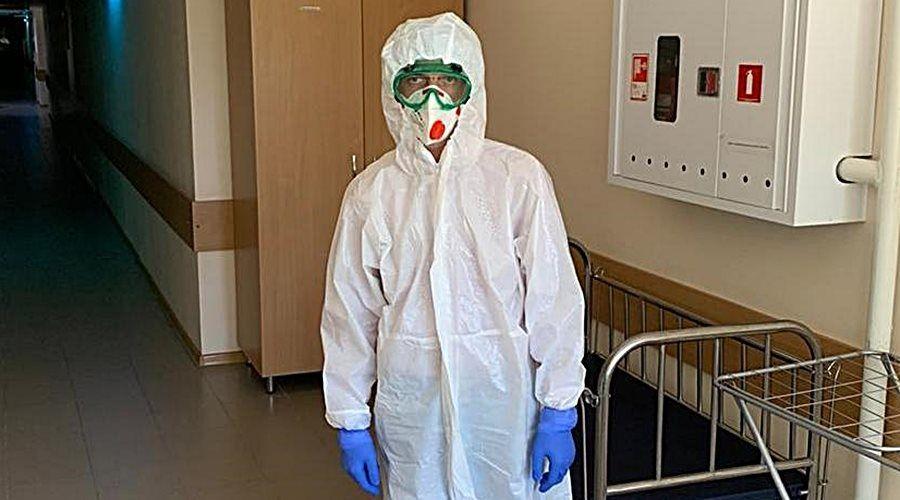 Министр здравоохранения Крыма идёт работать в ковидный госпиталь