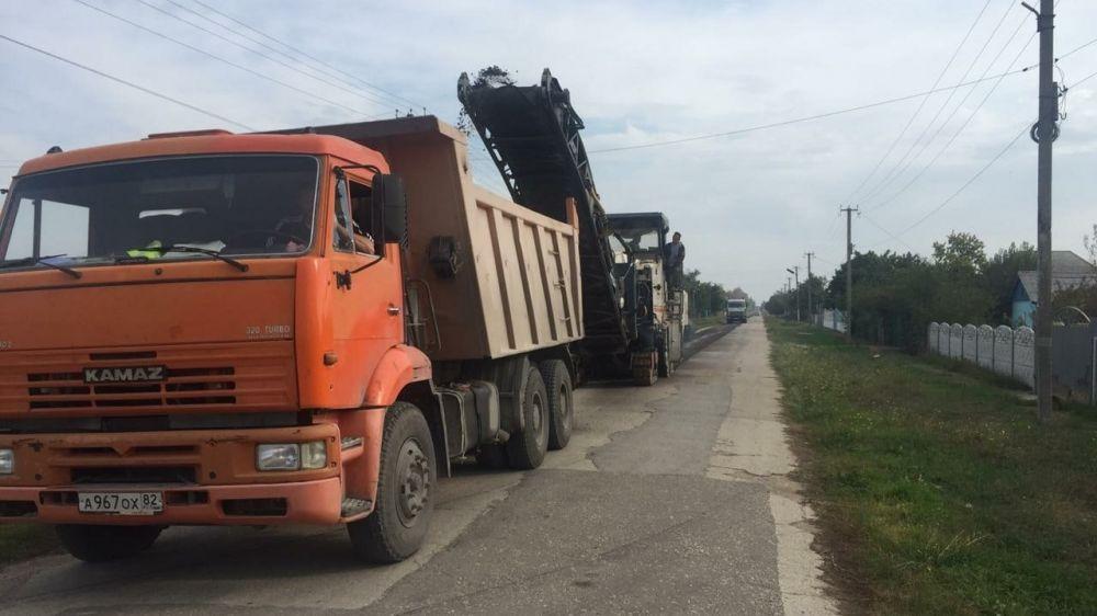 В с.Новогригорьевка начаты работы по ремонту улицы