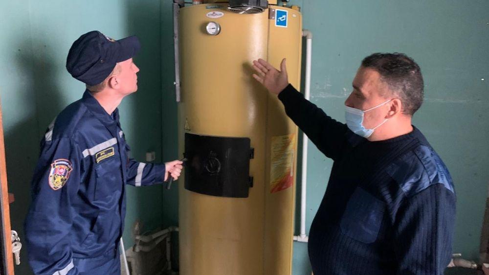 В ГКУ РК «Пожарная охрана Республики Крым» продолжаются проверки готовности пожарных частей к зимнему периоду