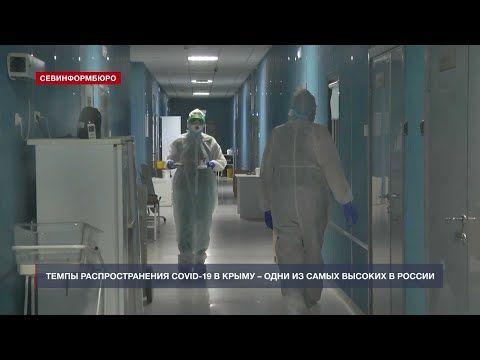 Темпы распространения COVID-19 в Крыму и Севастополе – одни из самых высоких в России