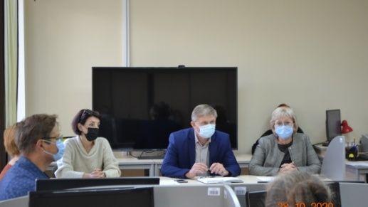 Ольга Мусияченко приняла участие в совещании по вопросам предоставления Государственным архивом Республики Крым услуг на платной основе