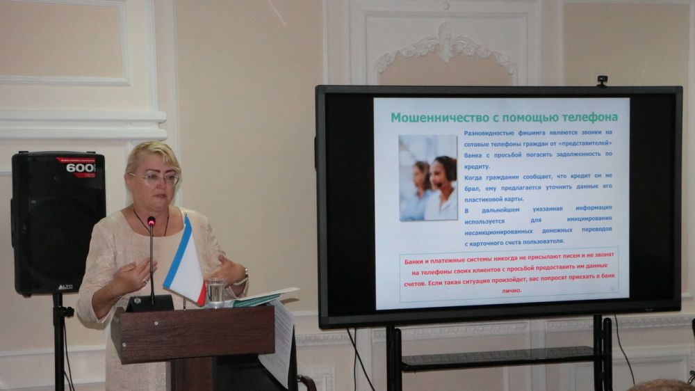 Крымский вице-премьер Ирина Кивико побывала в роли лектора КИПУ