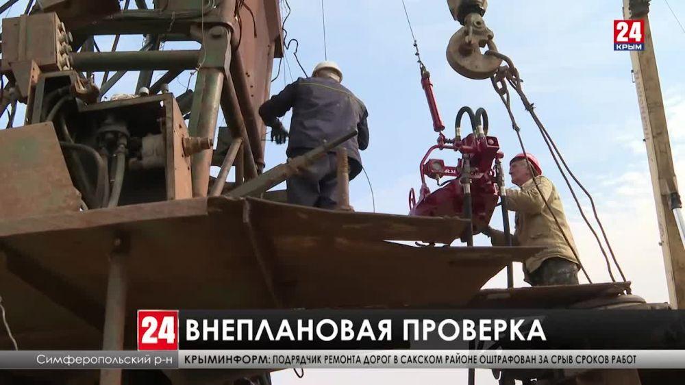 Глава Республики проверил строительство объектов жизнеобеспечения вододефицитных регионов