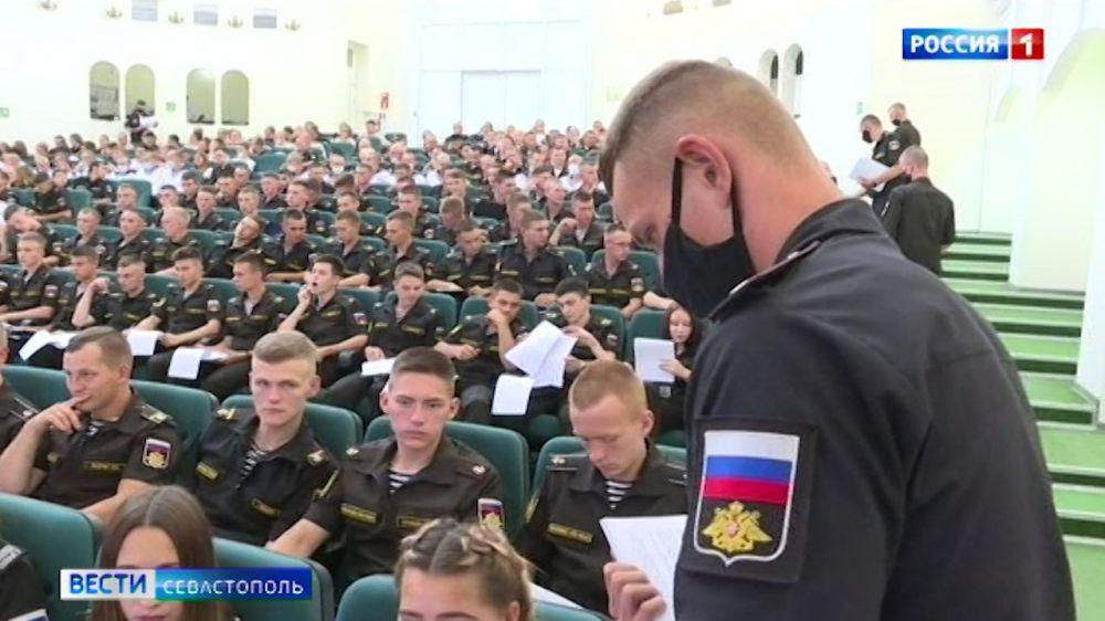 Военнослужащие Черноморского флота написали правовой диктант