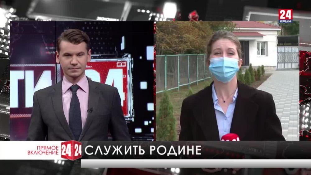 В Крыму проходит призывная компания