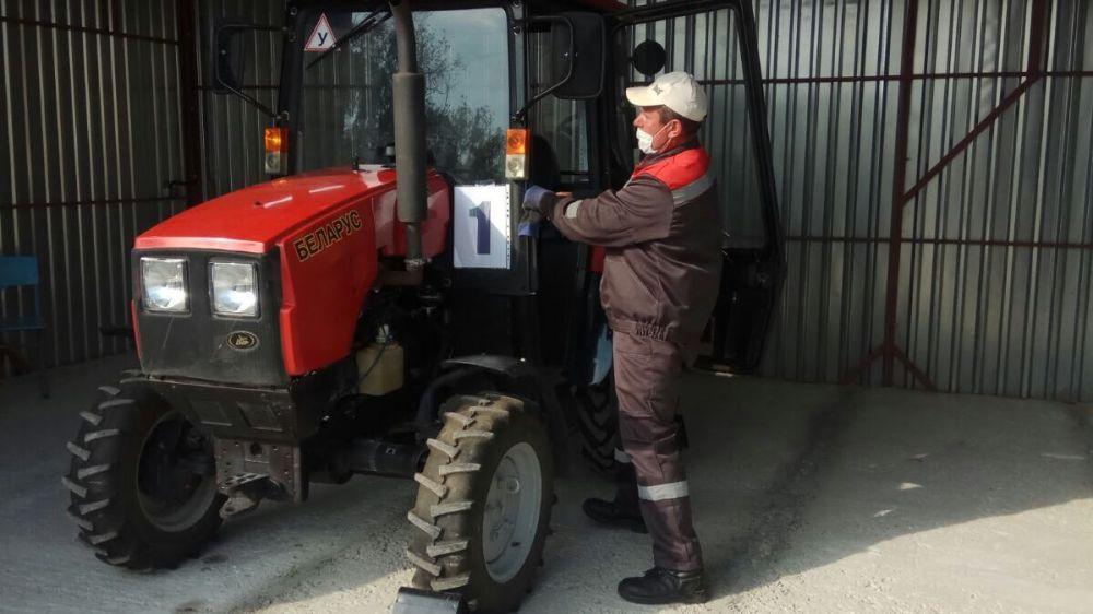 Подведены итоги конкурса профессионального мастерства по профессии «Тракторист-машинист сельскохозяйственного производства»