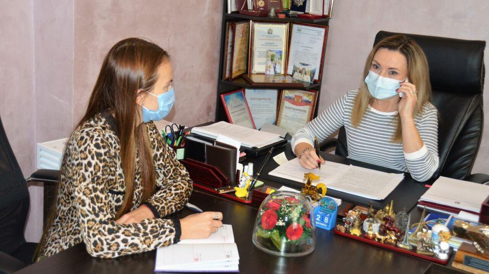 Светлана Лужецкая оказала правовую помощь крымским предпринимателям в Общерегиональный день приема граждан