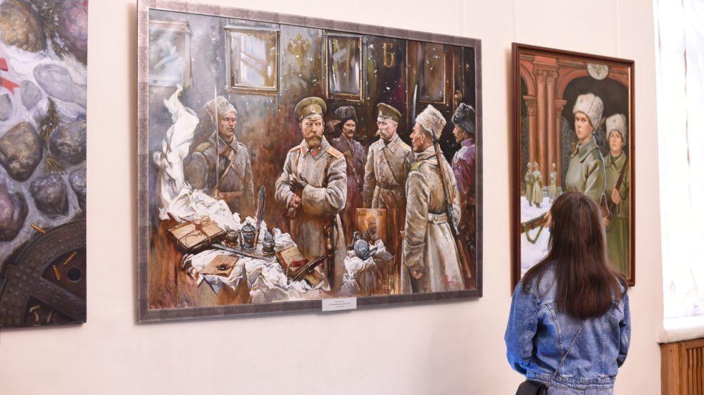 Новый выставочный проект представлен Симферопольским художественным музеем