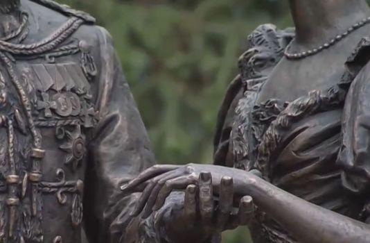 В Алуште открыли памятник посвященный царской семье
