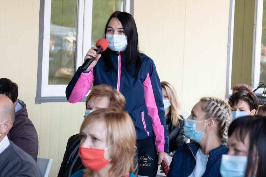Марат Хуснуллин и Михаил Развожаев встретились с жителями Бельбекской долины