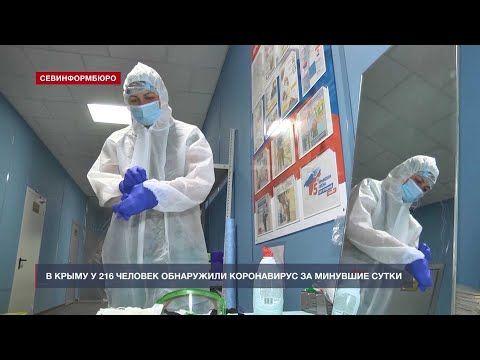 В Крыму у 216 человек обнаружили коронавирус за сутки