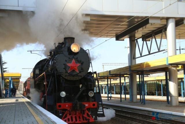 В ноябре в Крым придет Поезд Победы