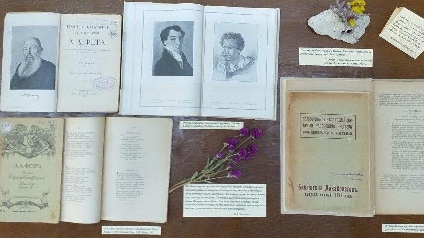 Книжная выставка в рамках цикла «Знаменательные даты года» начала работу в Доме-музее М.А. Волошина