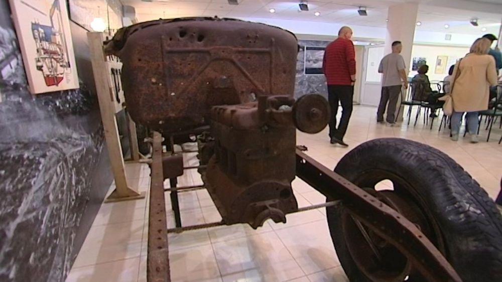 В Севастополе открылась выставка, посвященная водителям времён ВОВ