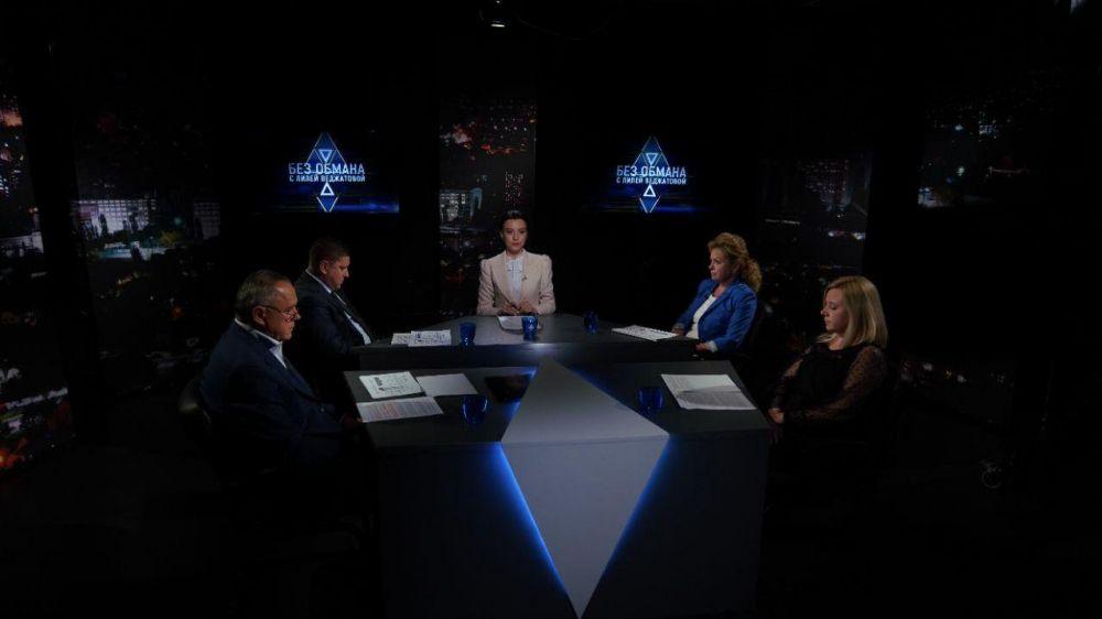 Начальник Инспекции Элина Акулова приняла участие в информационно-аналитическом ток-шоу «БЕЗ ОБМАНА с Лилей Веджатовой» в прямом эфире на телеканале «Миллет»