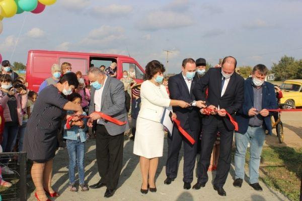 В селе Шелковичное Сакского района открыли новую зону отдыха