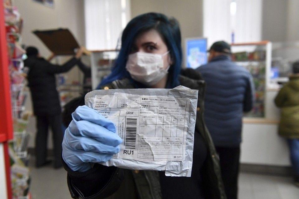 COVID-19 не помешал жителям Крыма отправлять посылки в другие страны