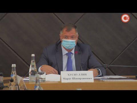 Вице-премьер правительства Марат Хуснуллин прибыл в Севастополь (СЮЖЕТ)