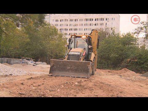 В Гагаринском районе появится ещё одно благоустроенное общественное пространство (СЮЖЕТ)