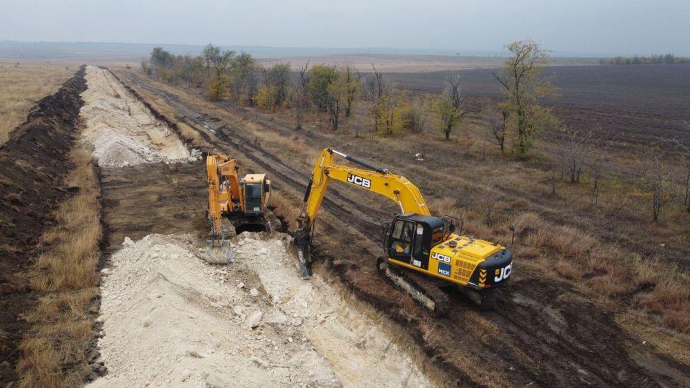 Во время рытья траншеи для водовода Бештерек-Зуйского обнаружили мины со времен ВОВ