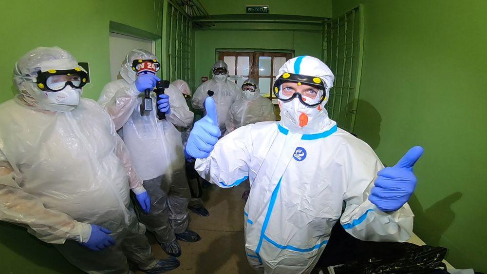 Министр здравоохранения Крыма приступил к работе в инфекционном госпитале