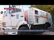 Крымские спасатели обрабатывают социальные объекты в рамках борьбы с COVID-19