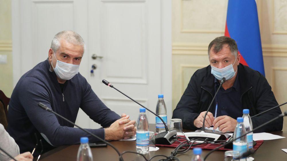 Сергей Аксёнов вместе с вице-премьером Маратом Хуснуллиным обсудили ключевые вопросы водоснабжения Крыма