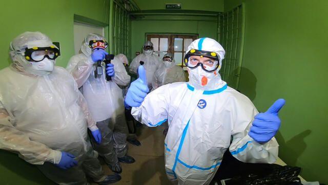 Министр здравоохранения Крыма приступил к работе в ковидном госпитале