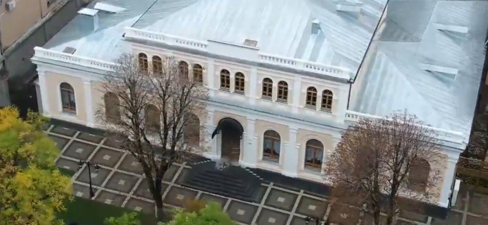 В Симферополе открыли отреставрированное здание Дворянского собрания