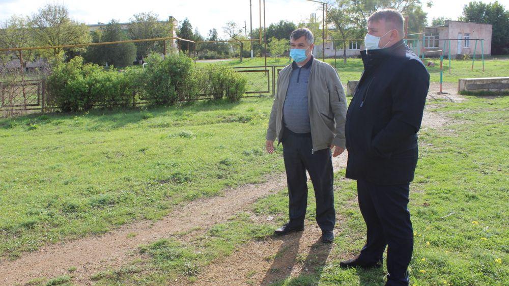 Михаил Слободяник посетил сёла Наташино и Веселовка