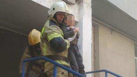 Информация о пожаре в г. Ялта