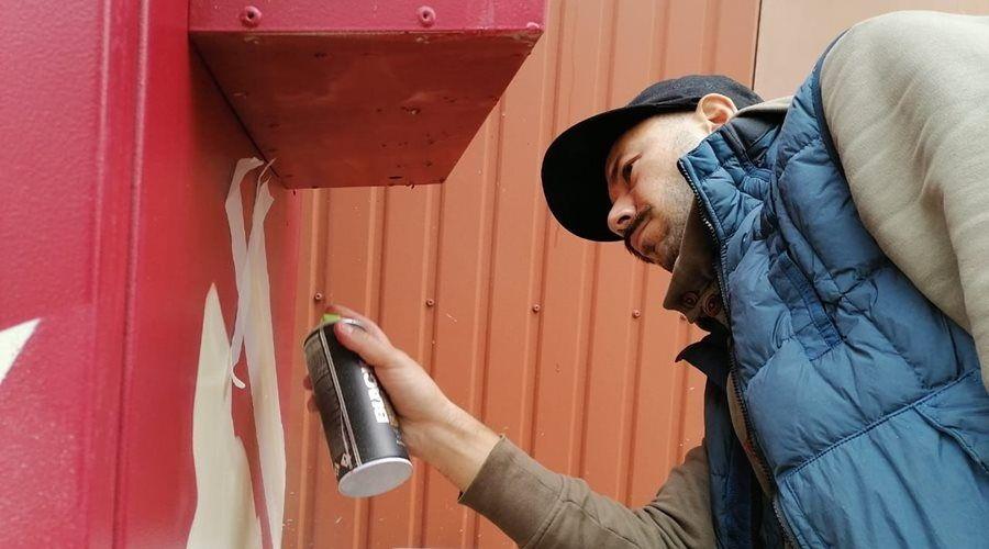 «Миранда-медиа» представила шкафы связи, раскрашенные в стиле стрит-арт