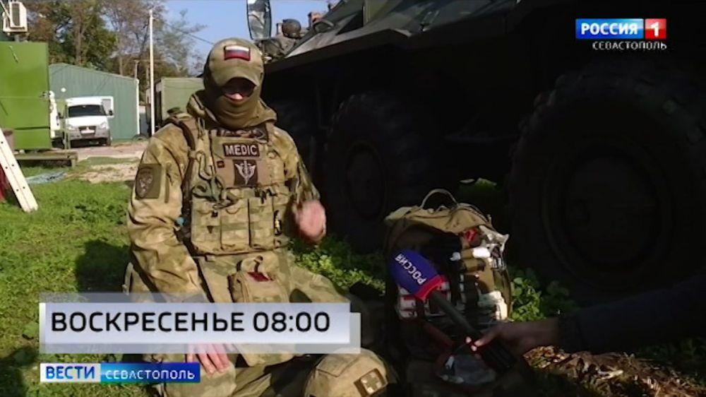 Как проходят тренировки спецподразделений в Севастополе