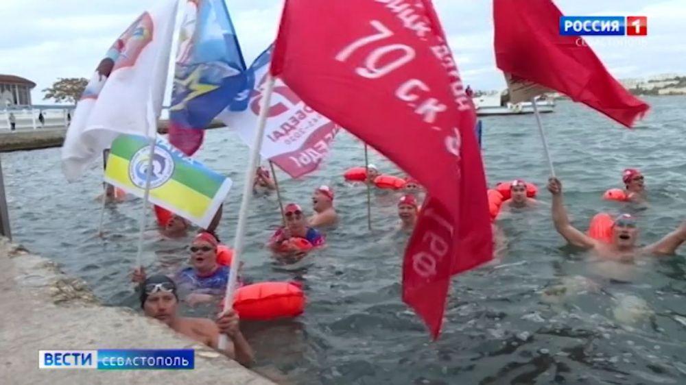 В Севастополе завершилась «Черноморская эстафета Победы»