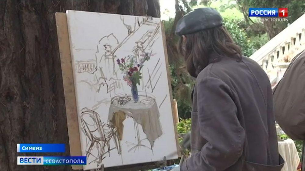 В Крыму 25 художников из разных регионов пишут пейзажи