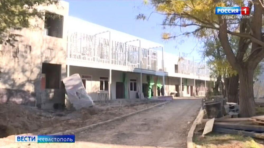 В новом корпусе инфекционной больницы в Севастополе появится 68 коек