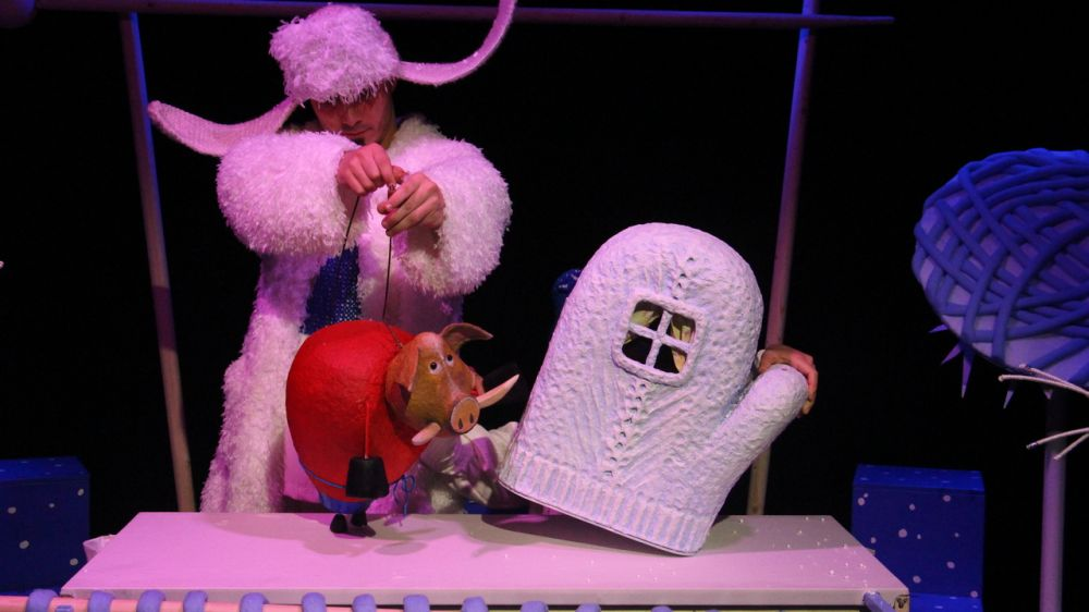 В Академическом театре кукол сдан новый спектакль