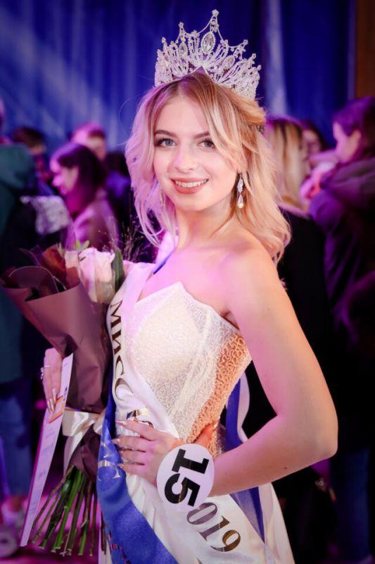 Студентка из Симферополя представит Крым на конкурсе «Мисс и Мистер Студенчество России – 2020»