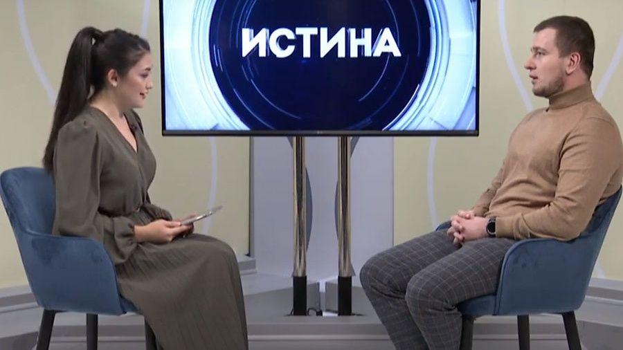 """Сергей Попенков в программе """"Истина"""" на телеканале """"Миллет"""""""