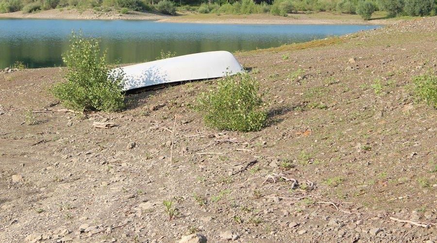 Исторический минимум запасов воды зафиксирован в ялтинских водохранилищах