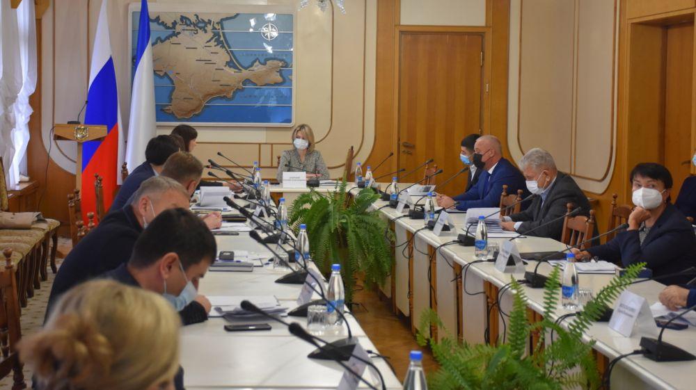 Лариса Кулинич приняла участие в очередном заседании профильного Комитета Госсовета