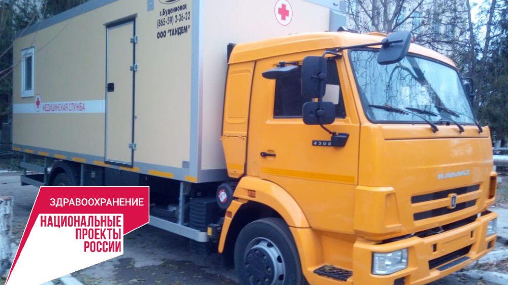 Медучреждения Крыма укомплектовываются новейшим оборудованием