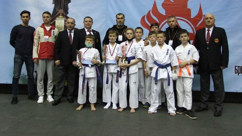 Крымские каратисты завоевали восемь медалей на «Кубке Черного Моря» в Краснодаре