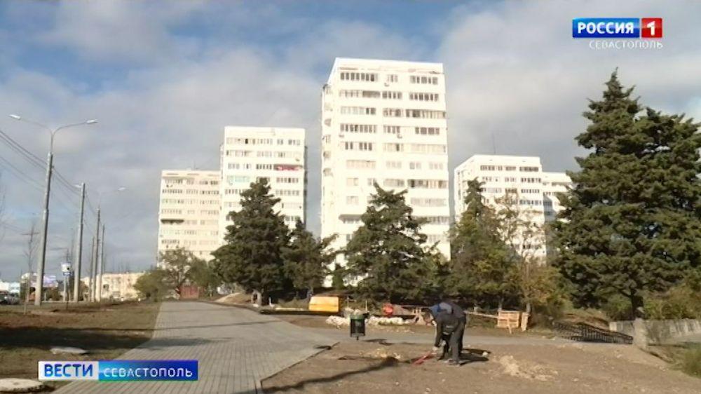 Проспект Октябрьской революции в Севастополе отреставрируют к концу года